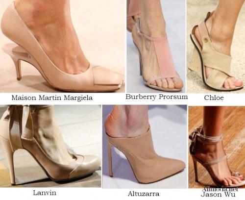 модная обувь сезон 2014