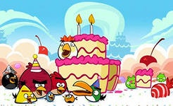 День рождения с Angry birds