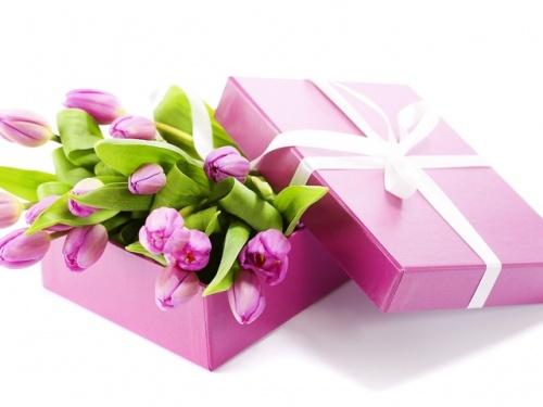 цветы подарок